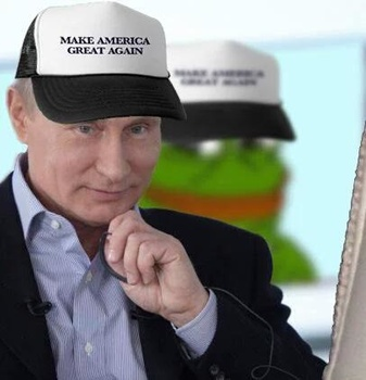 image for Vladimir Putin Be Like: WTH, man?